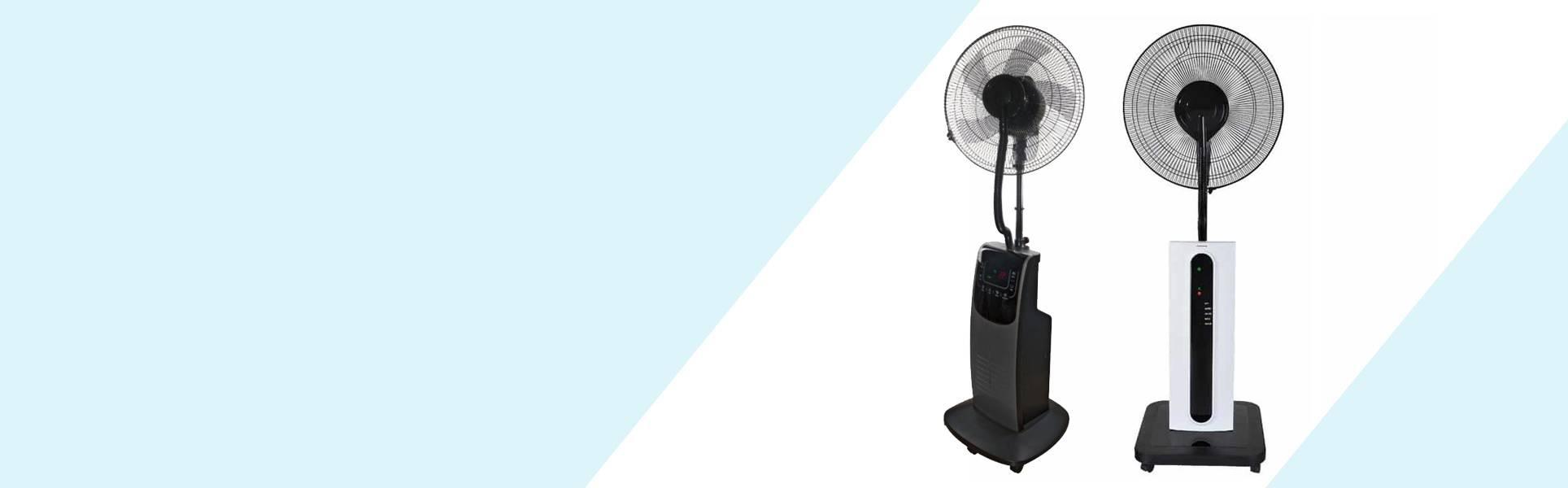 Ventilateur Brumiseur d'Intérieur